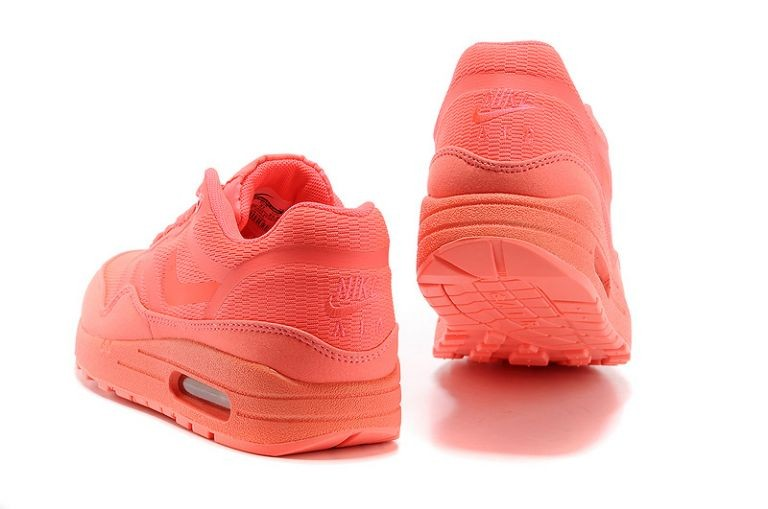 Nike Air Max 1 Premium Tape Women\'s Running Shoes Solar Red